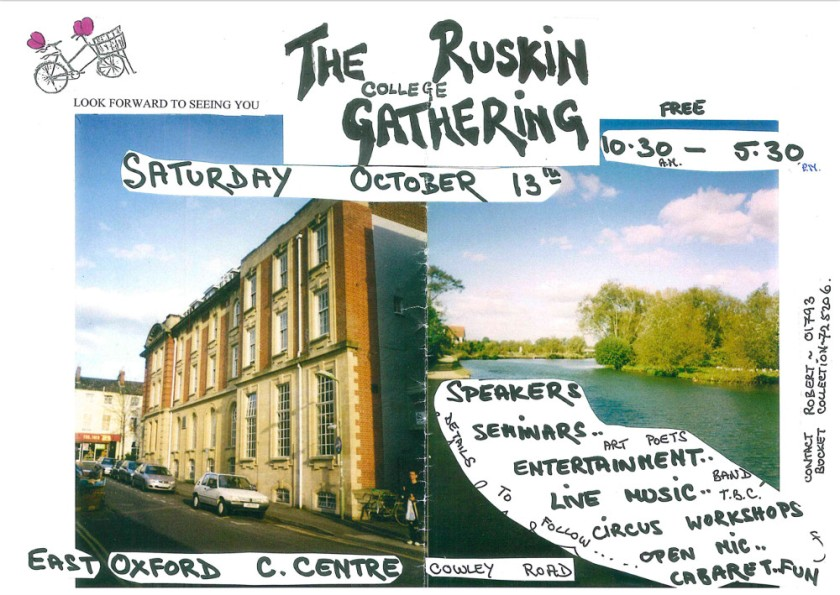 Flyer for RF event 13 Oxford
