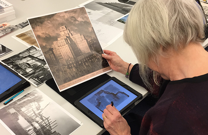 iPad drawing workshop at RIBA, London_ Image credit - RIBA